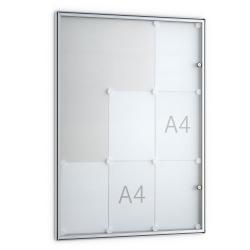 04. Basic-Schaukasten - 9x DIN A4