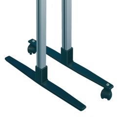 Zubehör: Ständer zur Freiaufstellung für Schiebetür-Wandtafel
